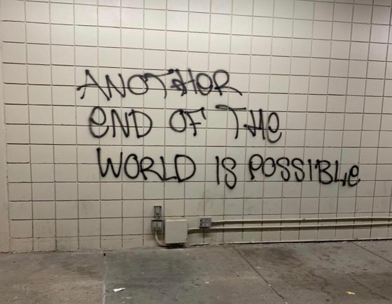 "Grafit ""Another end of the word is possible"""